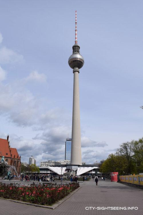City Sightseeing, Berlin, Berliner Fernsehturm