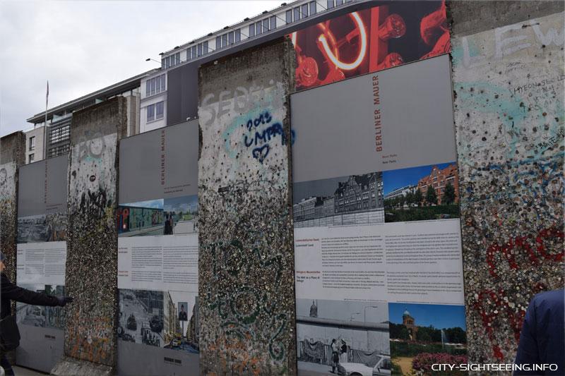 City Sightseeing, Berlin, Berliner Mauer