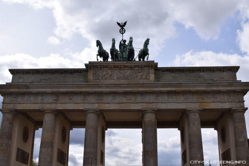 City Sightseeing, Berlin, Brandenburger Tor