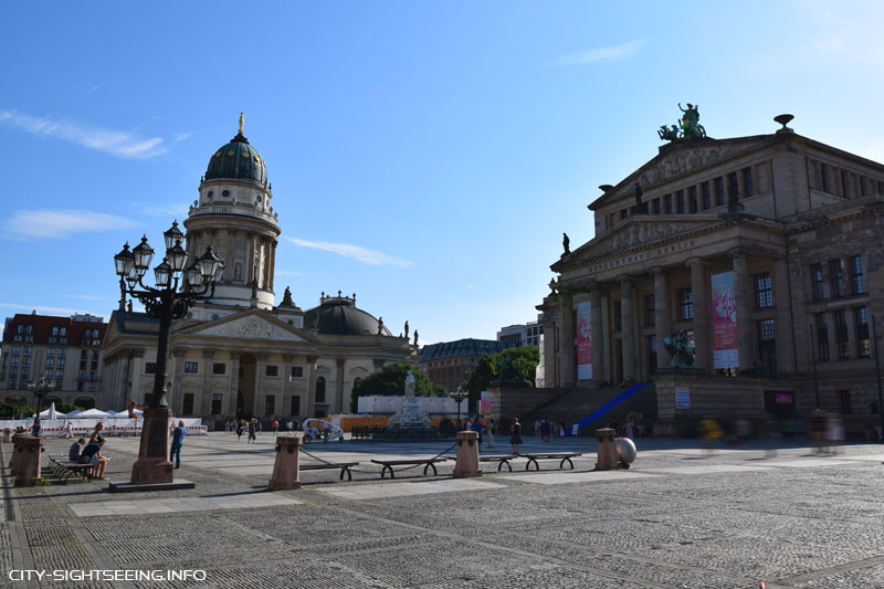 Berlin, Sights, Sehenswürdigkeiten, Gendarmenmarkt, Konzerthaus