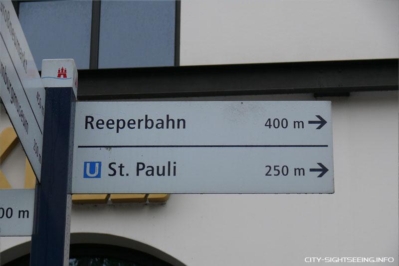 City Sightseeing, Hamburg, Reeperbahn, St.Pauli