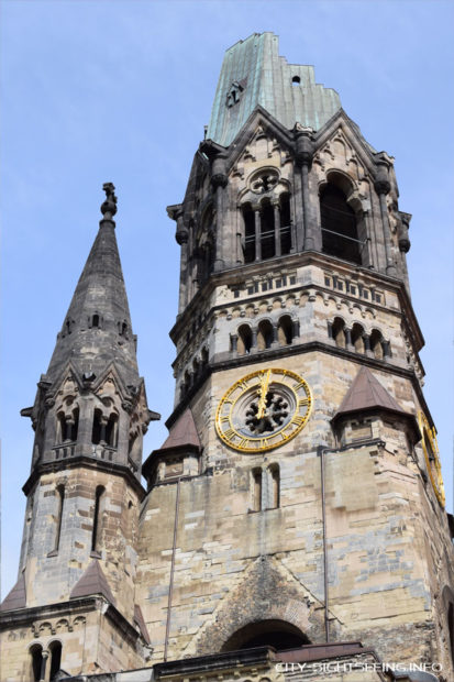 Kaiser Wilhelm Memorial Church,City Sightseeing, Berlin, Kaiser-Wilhelm-Gedächtniskirche