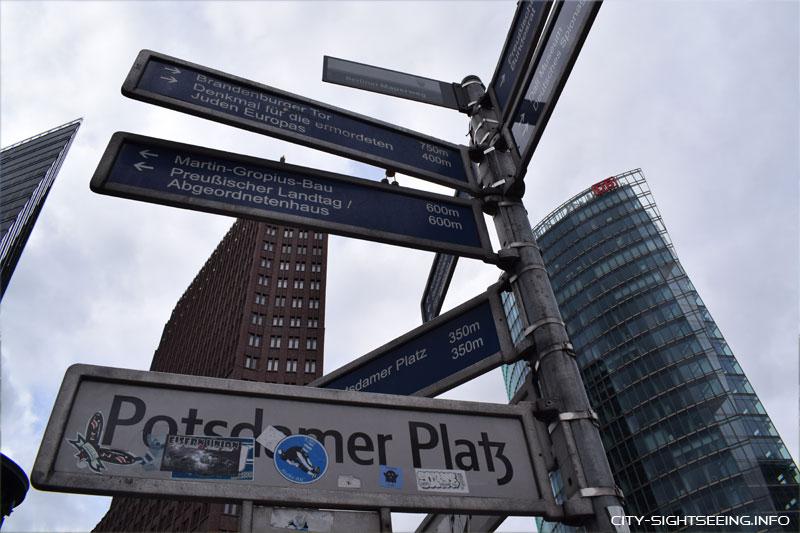 City Sightseeing, Berlin, Reichstag, Potsdamer Platz