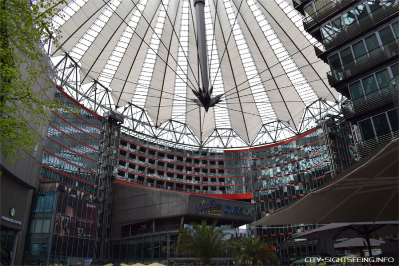City Sightseeing, Berlin, Reichstag, Potsdamer Platz, Sony Center