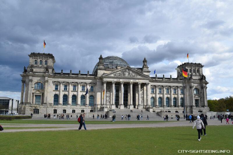 City Sightseeing, Berlin, Reichstag, Reichstag Berlin, Bundestag