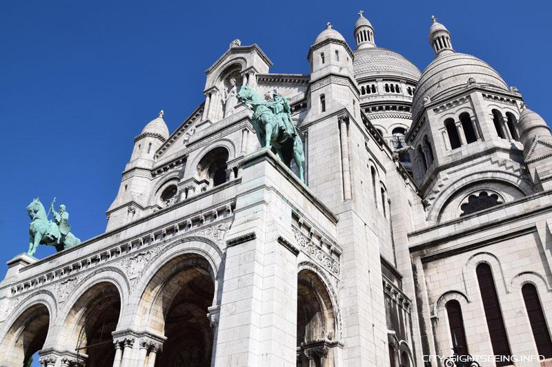 Sacré-Cœur de Montmartre, Sacré-Cœur , Paris, Frankreich, France, Sehenswürdigkeit, Sights, Sightseeing