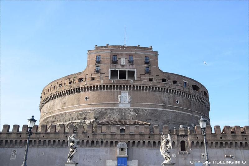 Engelsburg, Rom, Rome, Castel Sant'Angelo
