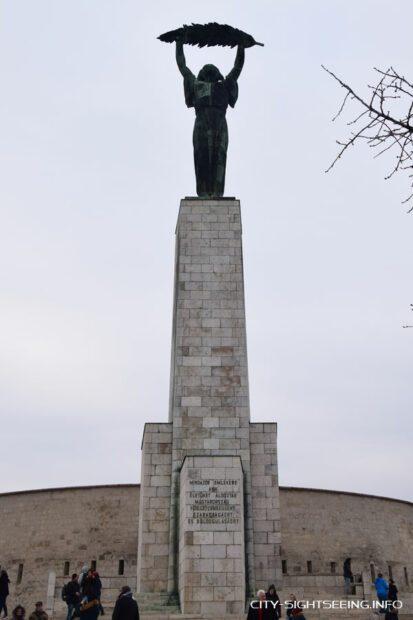 Freiheitsstatue, Budapest, Statue of Liberty