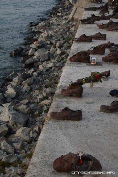 Mahnmal, Schuhe am Donauufer, Budapest