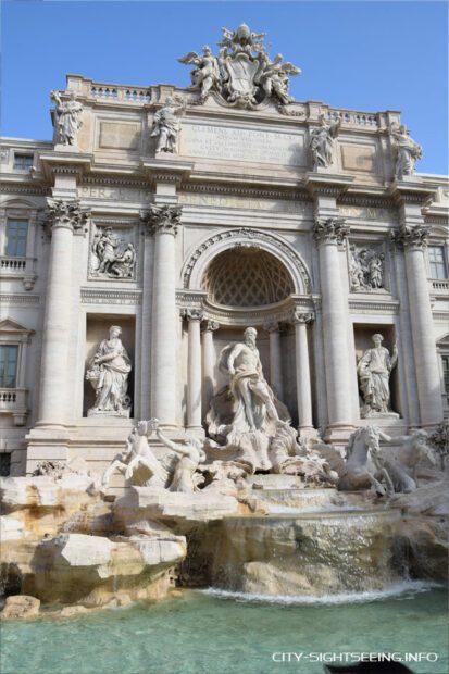 Trevi Brunnen, Rom, Trevi fountain, Rome