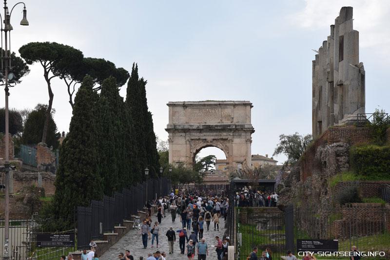 Forum Romanum, Rom, Roman Forum, Rome