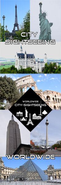 City-Sightseeing, Sehenswürdigkeiten der Welt, weltweit, best sights