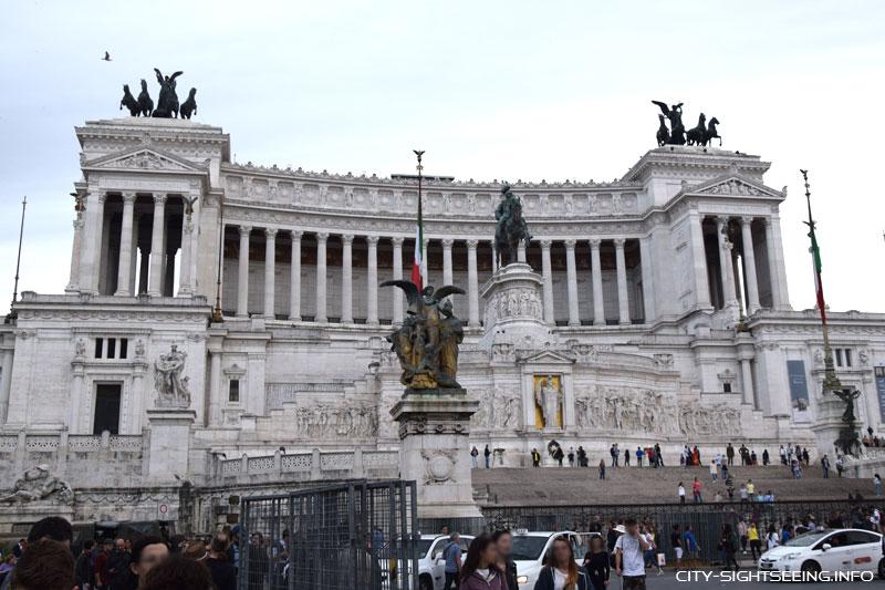 Monumento a Vittorio Emanuele II, Rom