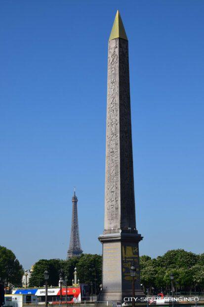 Obelisk von Luxor, Paris